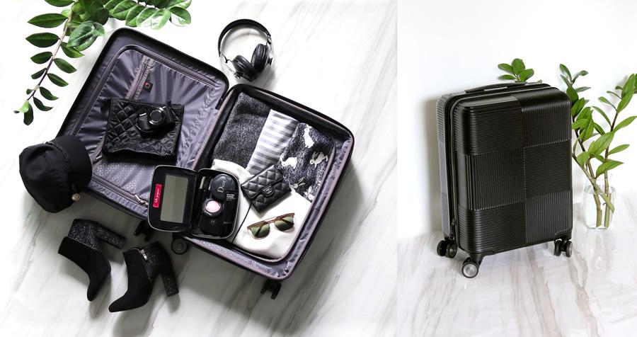 รีวิว กระเป๋าเดินทางดีไซน์เก๋ Caggioni Voyageur Luggage