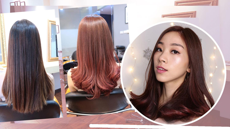 รีวิวทำสีผมน้ำตาลอมชมพูกับคนญี่ปุ่นที่ Hair Atelier Ador ย่านสุขุมวิท
